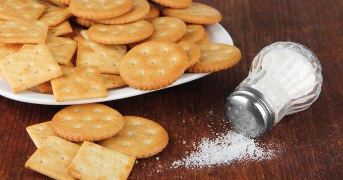 Salt på kex