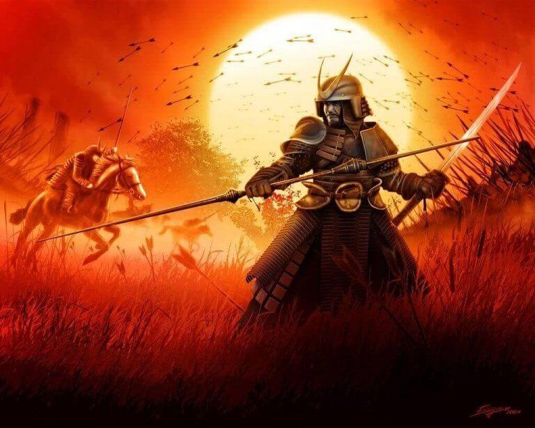 Samuraj på fältet