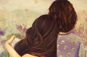 När folk visar kärlek för oss