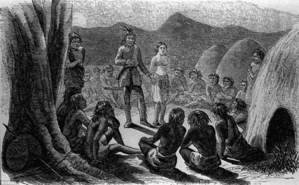 Olive med indianerna