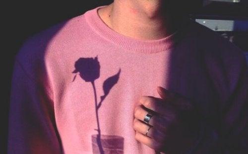 Skuggan av ros