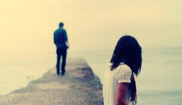 Ta avstånd från exet