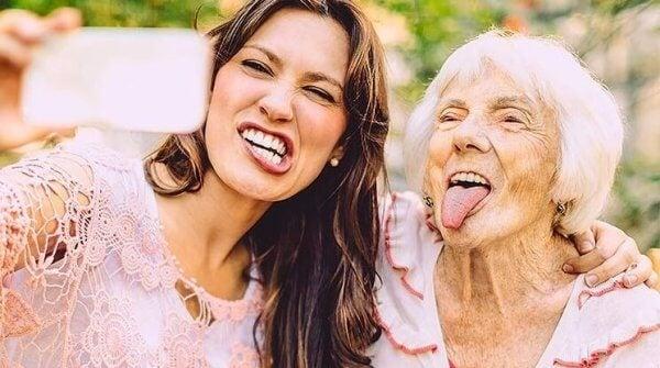Vänner av olika åldrar