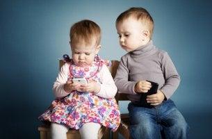 Varför ge barnen en telefon?