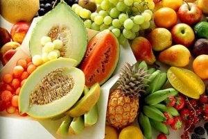 Frukter med betakaroten