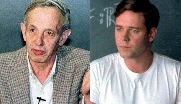 John Nash och Russel Crowe