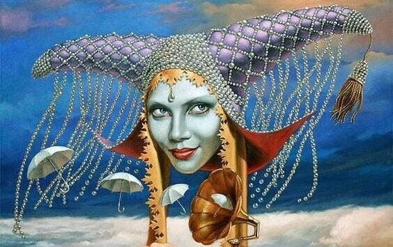 Kvinna - fantasibild