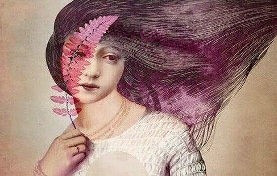 Kvinna med kvist