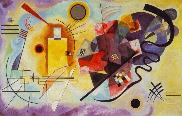 Målning av Kandinsky