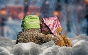 Nallar i snön