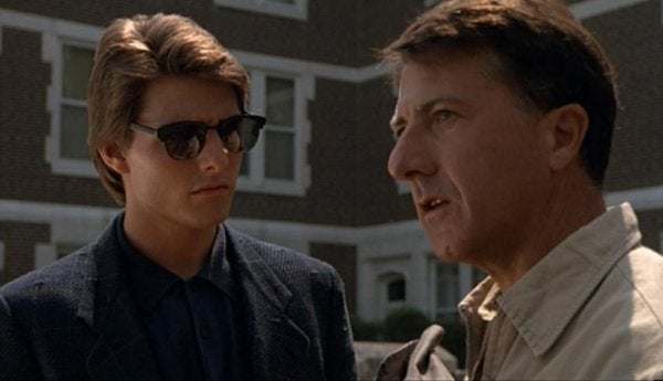 Tom Cruise och Dustin Hoffman