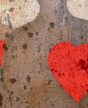 Skuggor med hjärtan