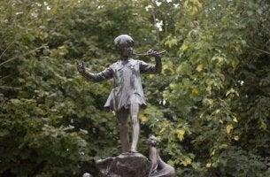 Staty av Peter Pan
