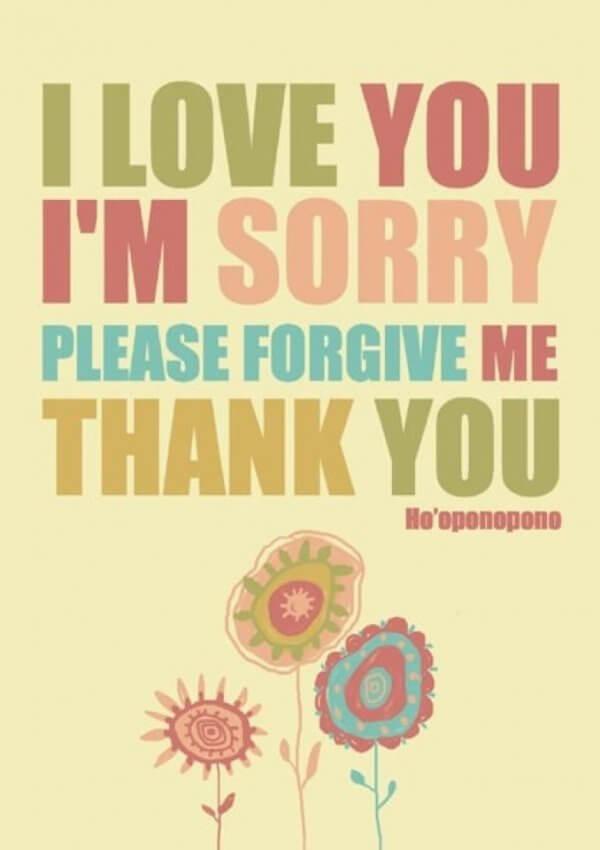 Be om förlåtelse