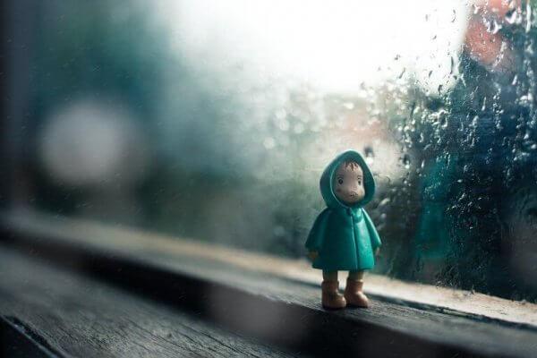 Figur i fönster