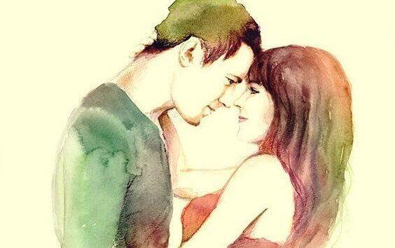 Förälskat par