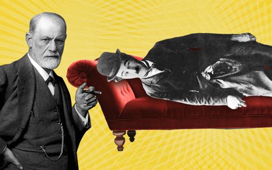 Freud och Chaplin