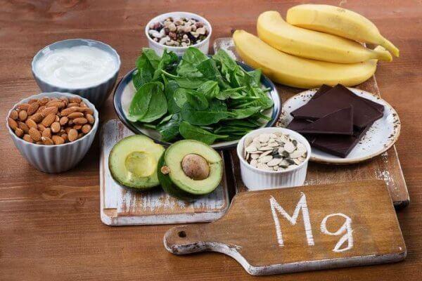 Livsmedel med magnesium