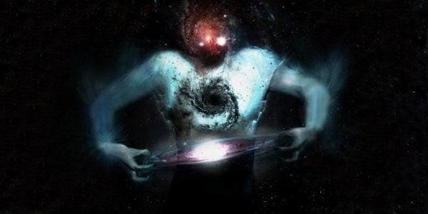 Människa i universum