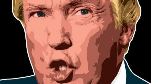 Trump i pastellfärg