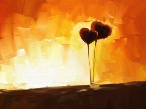 Två hjärtan tillsammans