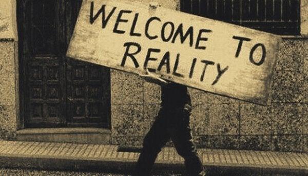 Välkommen till verkligheten