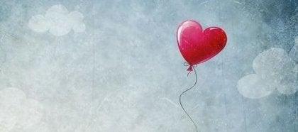 Hjärtformad balong
