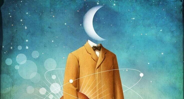 Kostym med måne