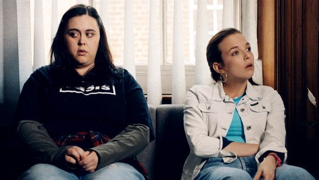 Kvinnor i soffa