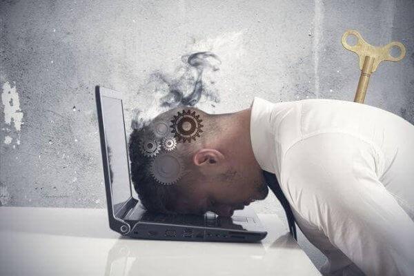 Utbrändhetssyndrom: när du arbetar för mycket