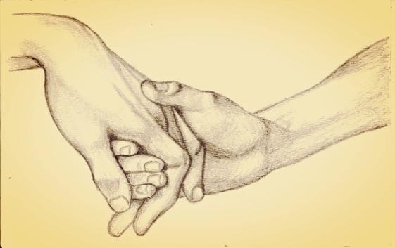 Ritning av händer