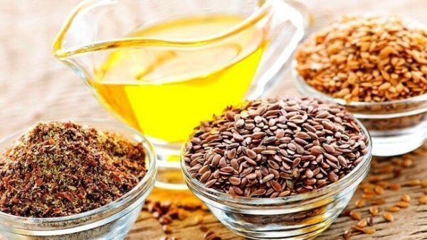 Frön som är rika på omega-3