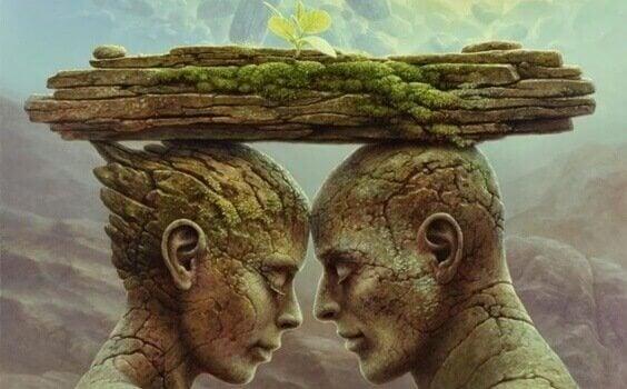 Speglingsteorin: sår som hjälper eller stjälper relationen