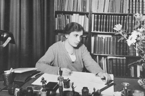 Anna Freud föredrog praktiskt arbete