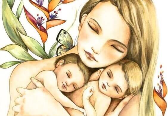 Att vara mamma: en jordbävning för själen