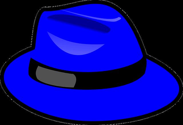 Blå representerar struktur