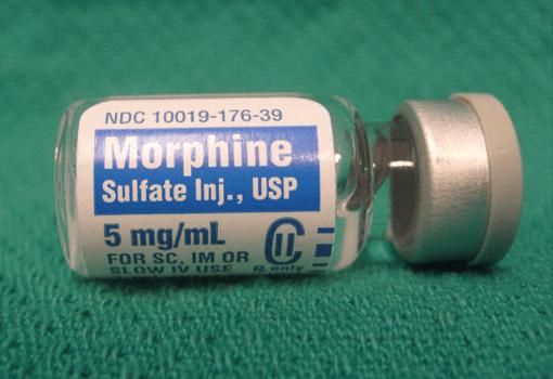 Morfin på flaska