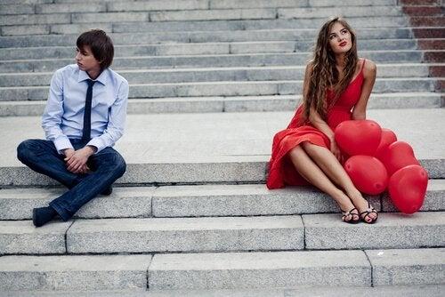 Par på trappa