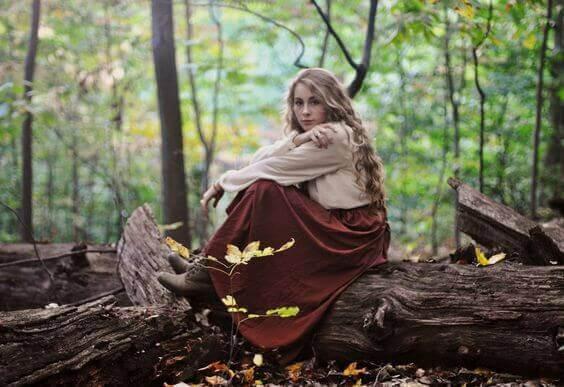 Törnrosa i skogen