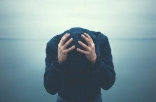 man med ångestproblem