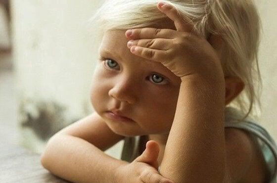 Oroligt litet barn