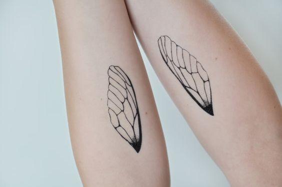 Tatuering av vingar
