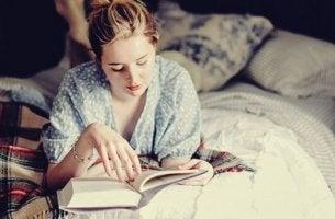 Att läsa innan läggdags