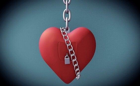 Fängslat hjärta