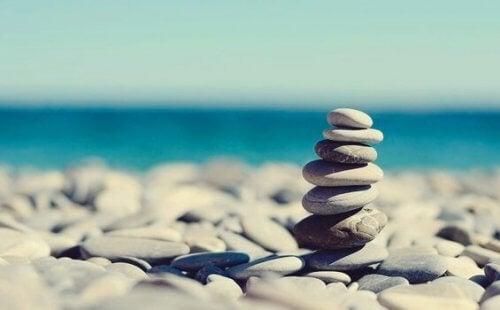 Berättelsen om stenarna: att sluta oroa sig