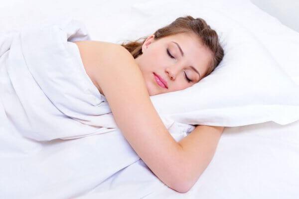 Sov i rätt ställning