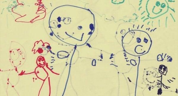 Teckning av barn