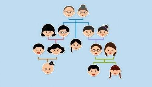 ett genogram