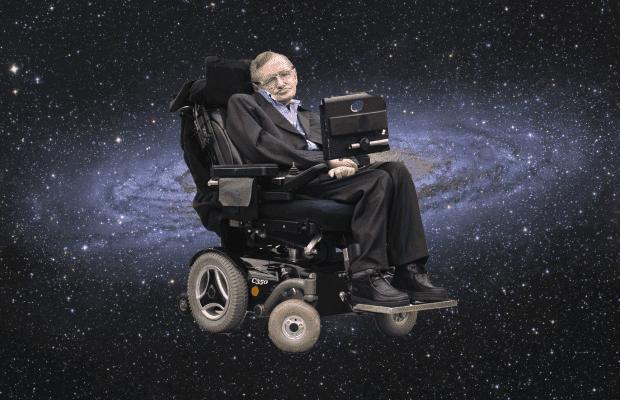 Astrofysikern Hawking