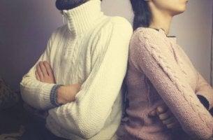 Attityder som förgör personliga relationer
